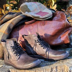John Varvatos U.S.A Star B Side Zip Boot